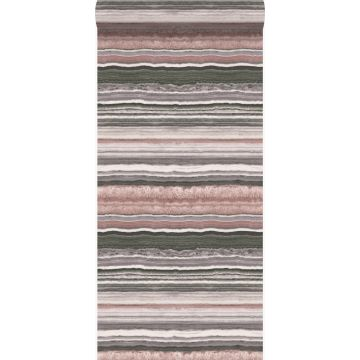 Tapete Marmor-Optik Quarzrosa