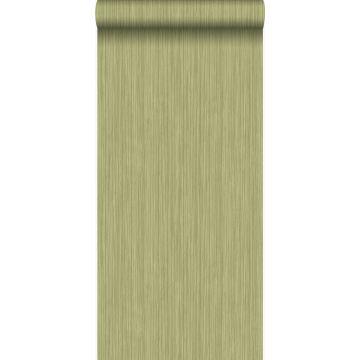 Tapete feine Streifen Grün