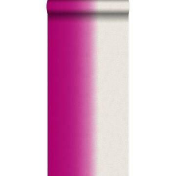 Tapete Dip Dye-Motiv Rosa