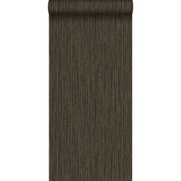 Tapete Bambusmuster Braun