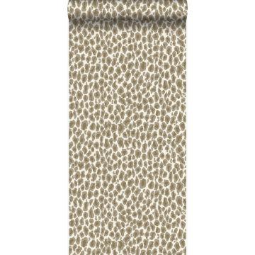 Tapete Leopardenmuster Beige