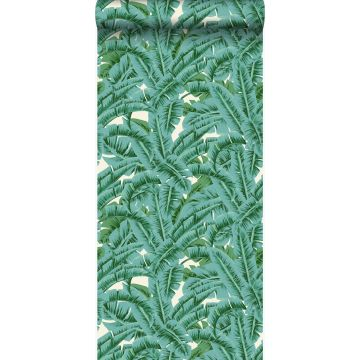 Tapete Palmblätter Grün