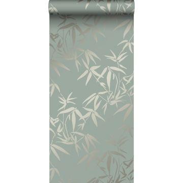 Tapete Bambusblätter Grün