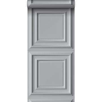 Tapete Holz-Wandverkleidung Grau